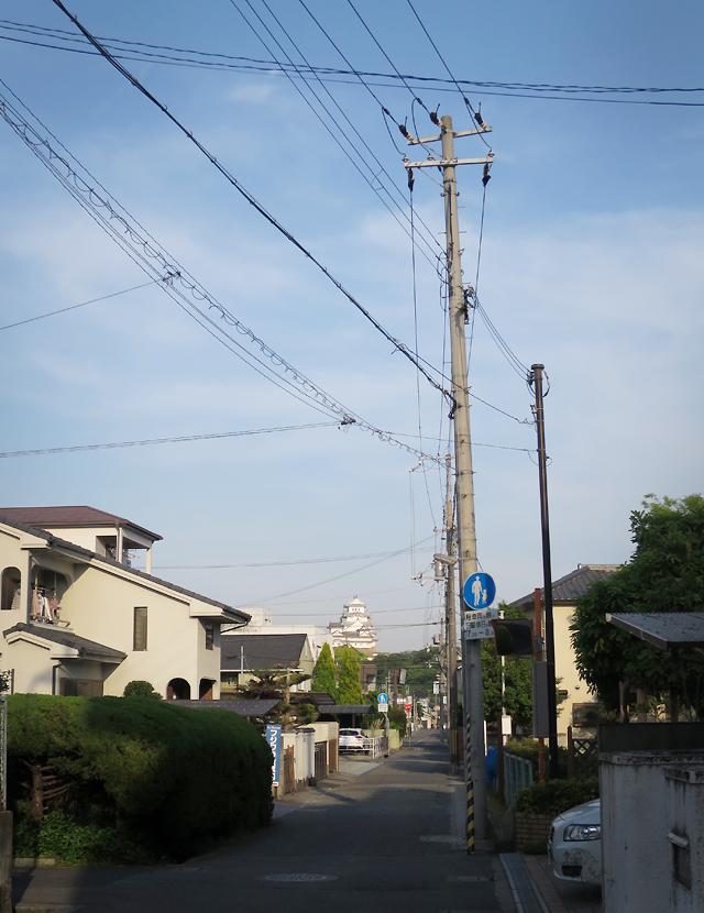 himeji street castle