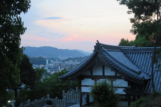 himeji sunset