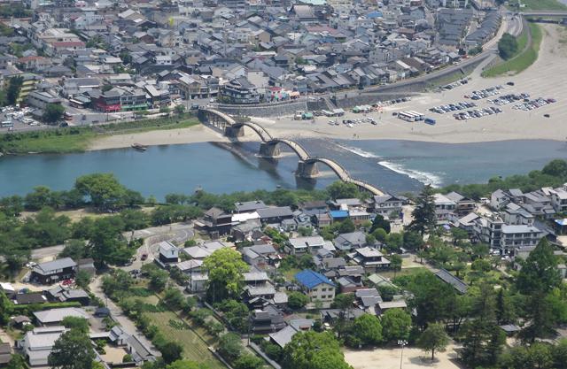Iwakuni above