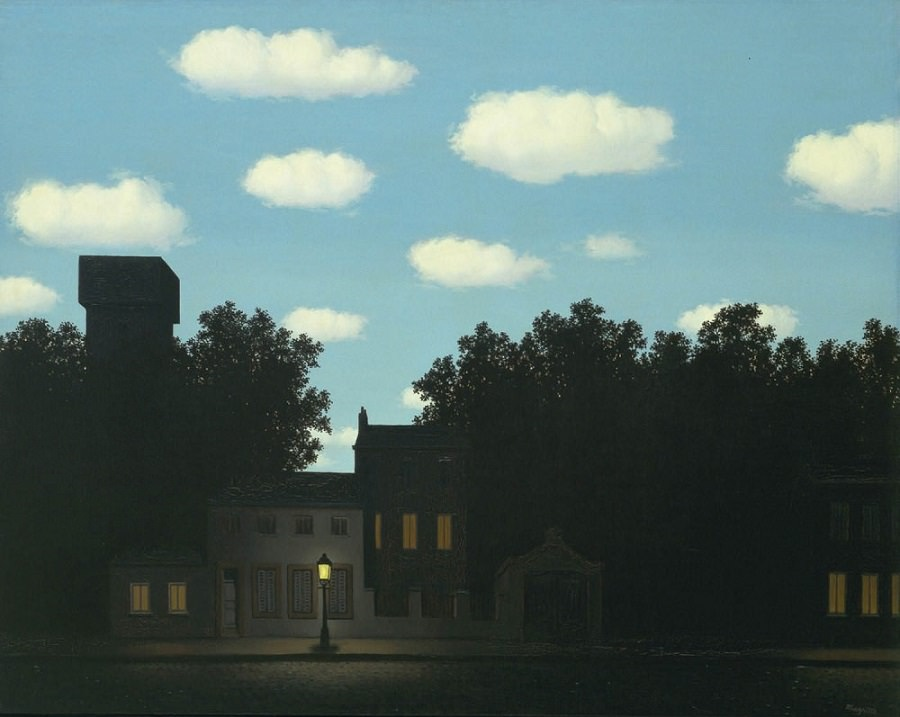 Magritte & Perspective